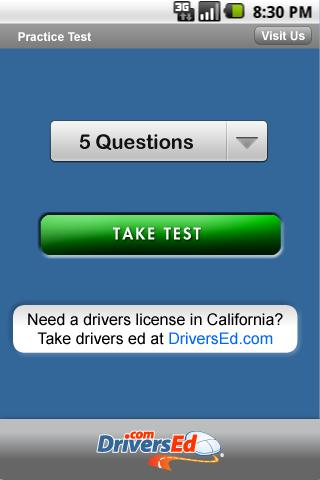 Drivers Ed Ohio - screenshot
