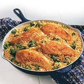 15-Minute Chicken & Rice Dinner.