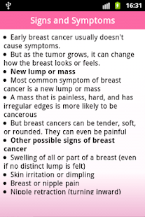 Breast Cancer- screenshot thumbnail
