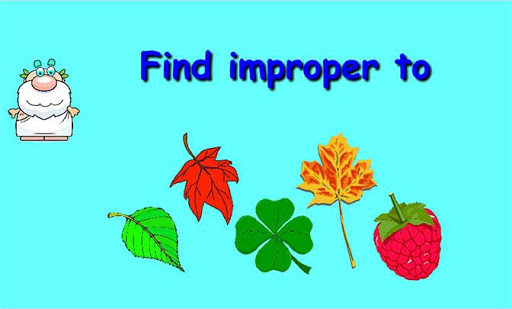 Find improper to