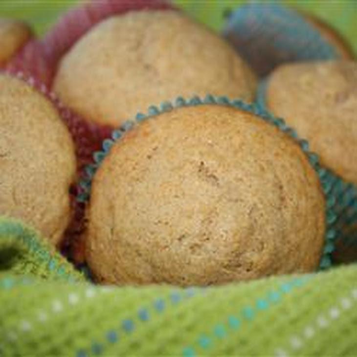 Honey Wheat Muffins Recipe