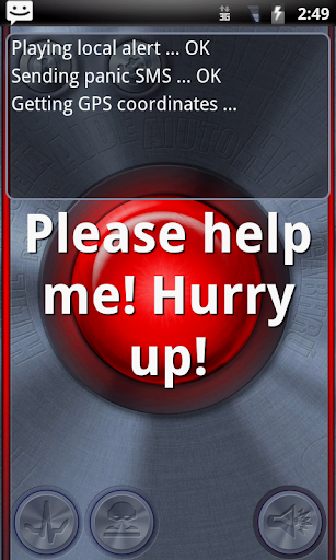 Panic Alert + GPS Tracker SOS