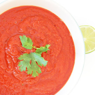 Clean Eating Spicy Chipotle Lime Salsa Dip