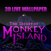 Monkey Island Live Wallpaper3d