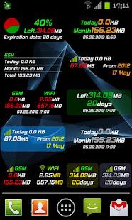 Mobile Counter | Data usage | Internet traffic 6