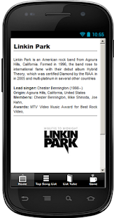 Linkin Park Top Song Hit - screenshot thumbnail