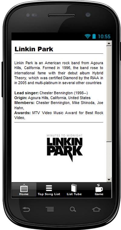 Linkin Park Top Song Hit - screenshot