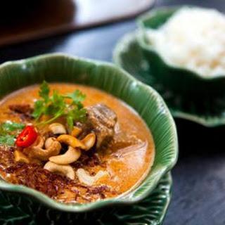 Thai Massaman Curry Paste.