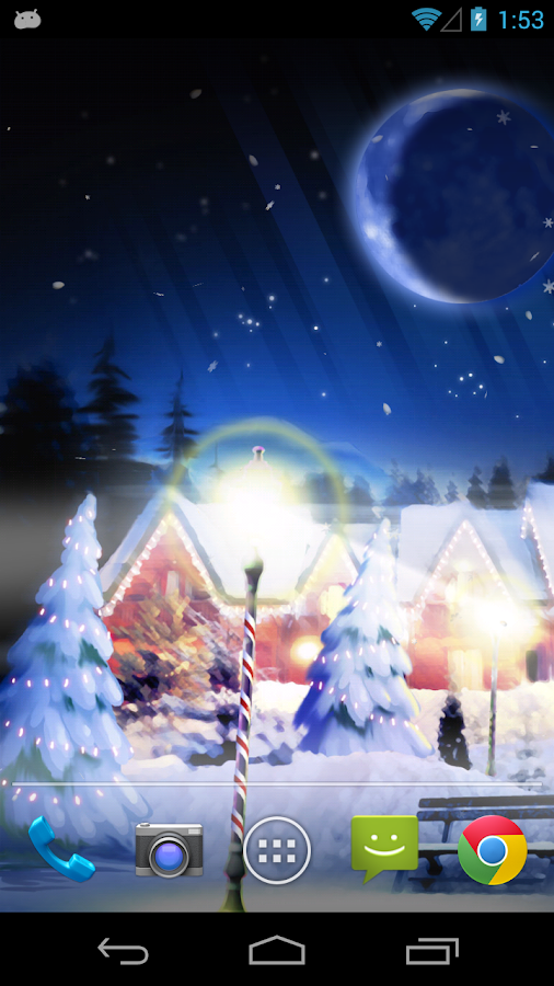 Christmas Silent Night LWP! - screenshot