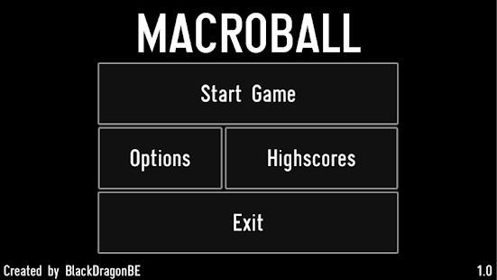 MACROBALL DEMO- screenshot thumbnail