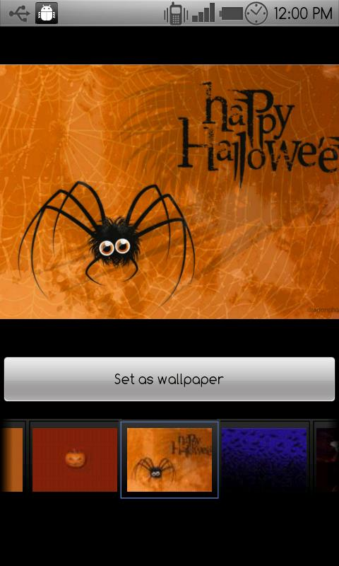 Halloween wallpapers - screenshot