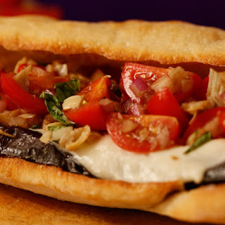Dr. Ian's Grilled Eggplant Sandwich