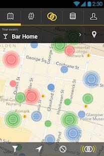 Swarmly - Real Time Map- screenshot thumbnail