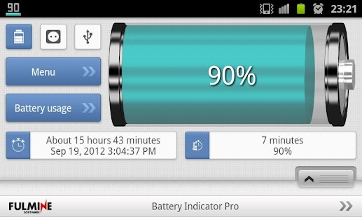 Battery Indicator Pro- screenshot thumbnail
