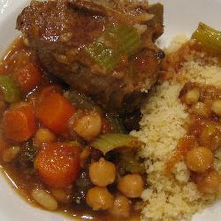 Moroccan Lamb and Vegetables with Couscous Recipe