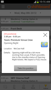 Shiftboard People Scheduling screenshot 4