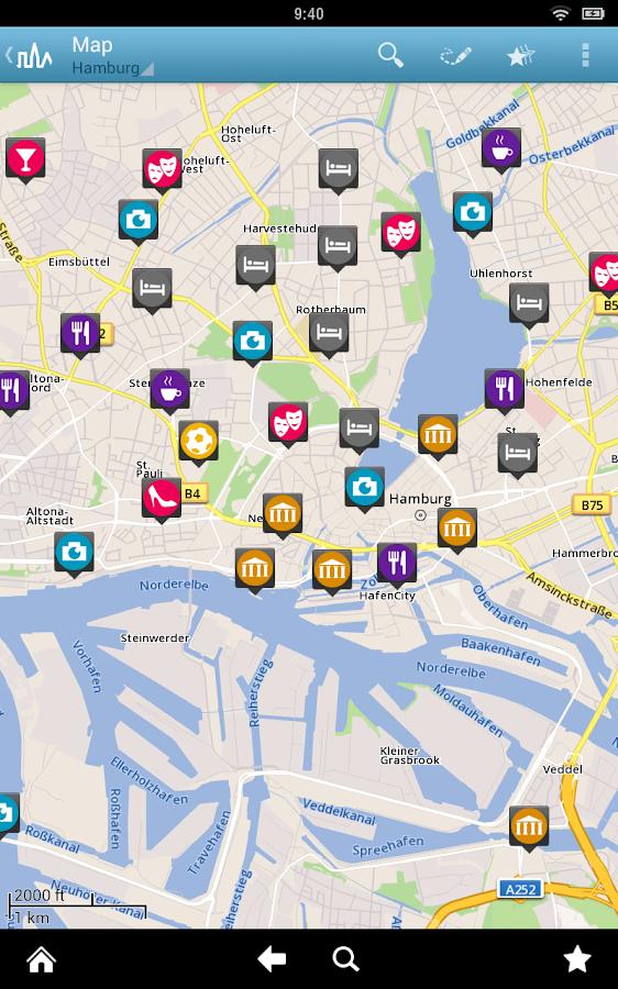 Hamburg Travel Guide App