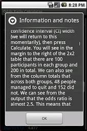 Odds Ratio Calculator