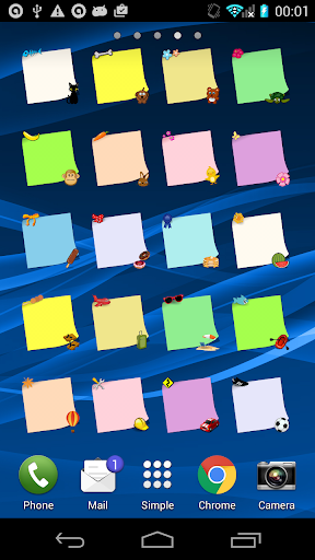 Another Sticky Notes Widget