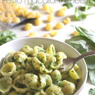 Pesto Macaroni Cheese.