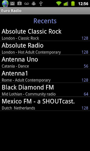 Euro Radio screenshot 7