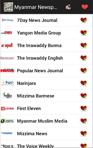 Myanmar Newspapers And News