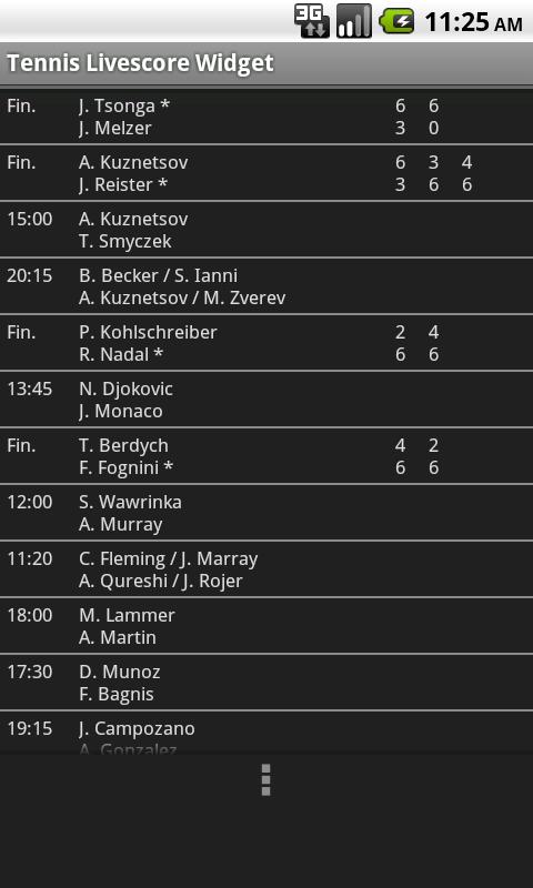 www.livescore tennis