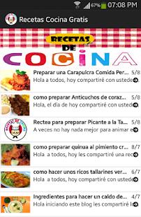 Recetas de Cocina Gratis 2014