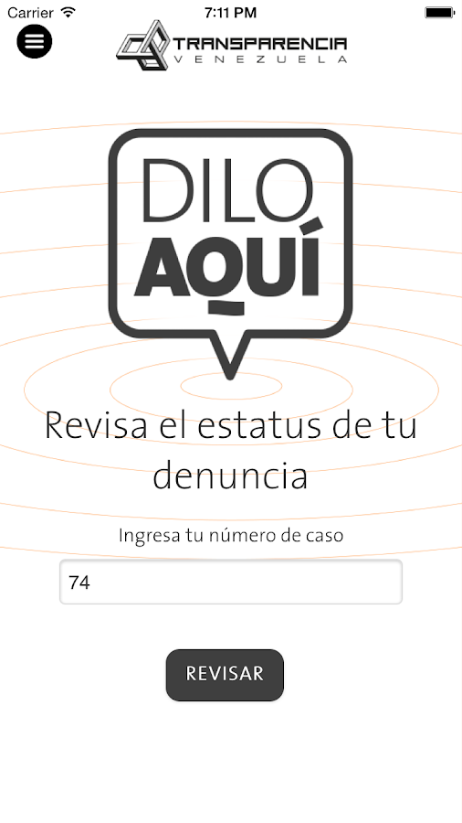 Dilo Aquí- screenshot