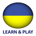 Learn and play. Ukrainian free icon
