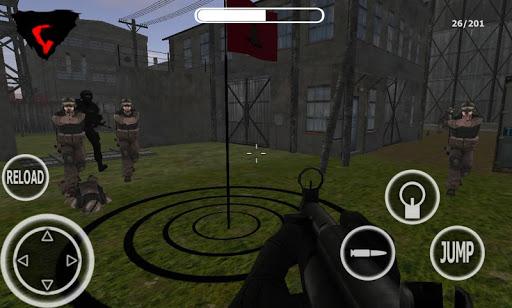 SWAT3D警察和軍士兵
