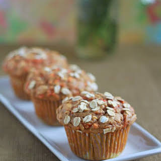 Hearty Spiced Carrot Muffins.