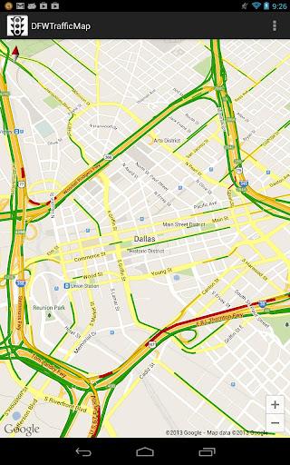 DFW Traffic Map