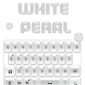 White Pearl Keyboard