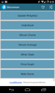 Bitcoinium- screenshot thumbnail