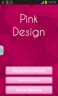 Keyboard Design Pink App - screenshot thumbnail