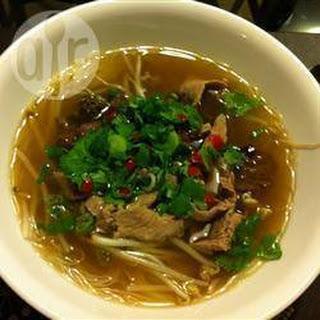 Pho (Vietnamese soep)