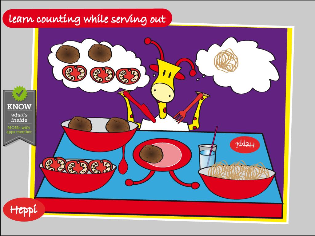 Bo's Dinnertime Story - screenshot