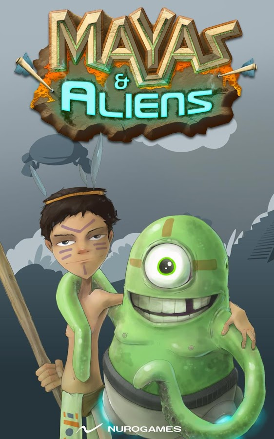 Mayas & Aliens - screenshot