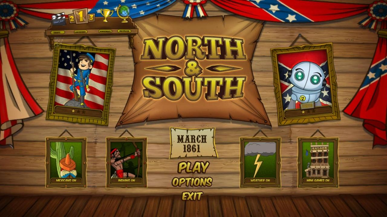 NORTH & SOUTH - The Game - screenshot