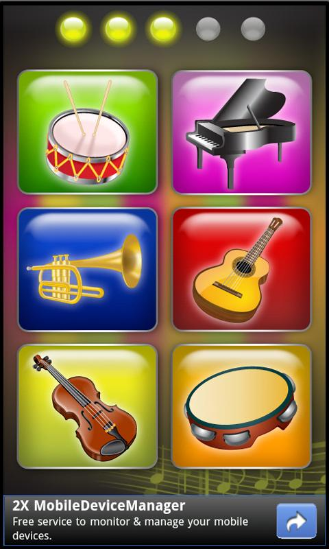 Kids Musical Challenges HD - screenshot
