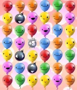 Platzende Ballons