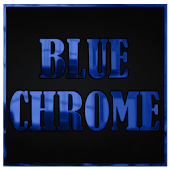 Blue Chrome CM11 AOKP Theme