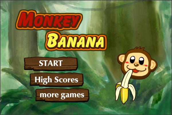 Monkey Banana Game Monkey Banana Screenshot