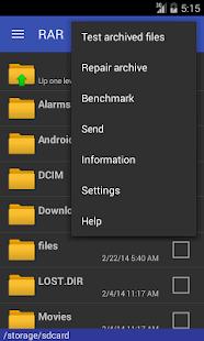 RAR for Android - screenshot thumbnail