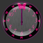 Butterflyglow Clock Widget icon