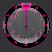Butterflyglow Clock Widget