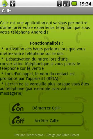 Call+ (Old) - screenshot