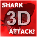 Shark Attack 3D Live Wallpaper icon