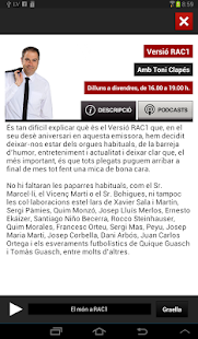 RAC1 Oficial- screenshot thumbnail